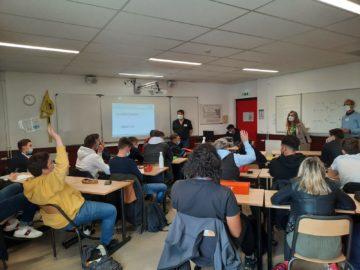 Rencontres de la CPDP avec des lycéens et étudiants du 17/03/2021