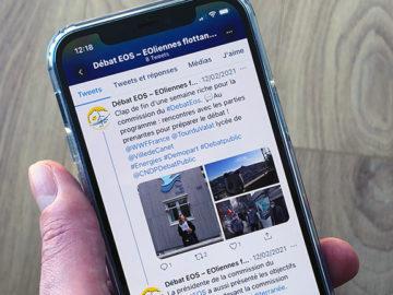 Le débat EOS sur les réseaux sociaux